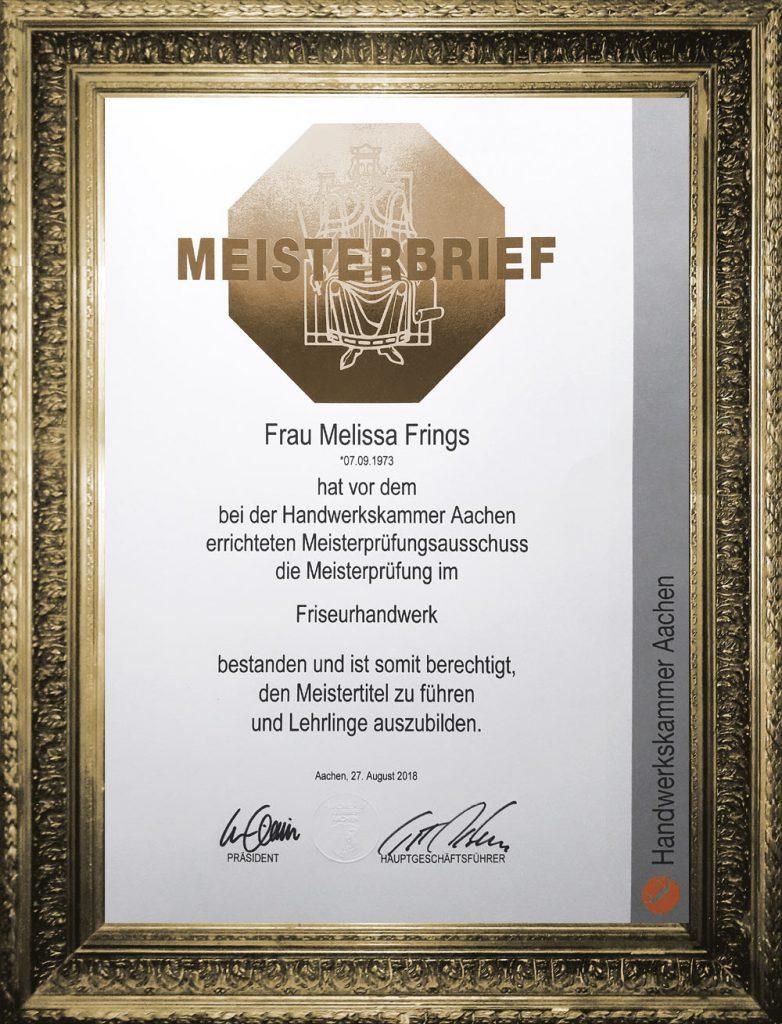 Melissa Frings Naturfriseurin und Friseurmeisterin - Habsburgerallee 11 - 52064 Aachen