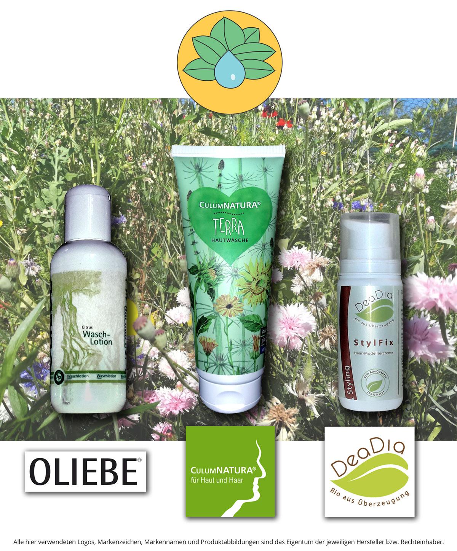 Melissa Frings Naturfriseurin: Bei uns erhalten Sie: CulumNatura®, Oliebe®, Sanoll Biokosmetik, DeaDia Bio aus Überzeugung