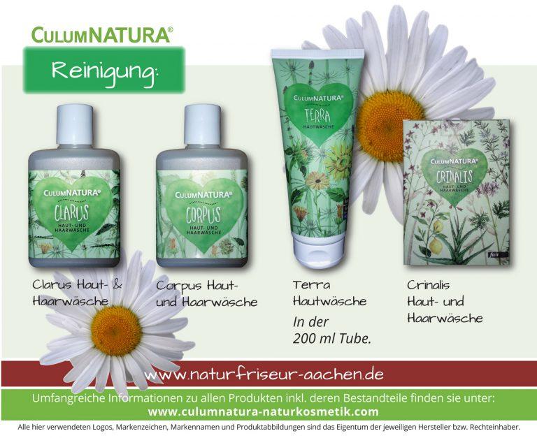 CulumNatura® Clarus Haut- & Haarwäsche / Corpus Haut- und Haarwäsche / Terra Hautwäsche In der 200 ml Tube / Crinalis Haut- und Haarwäsche