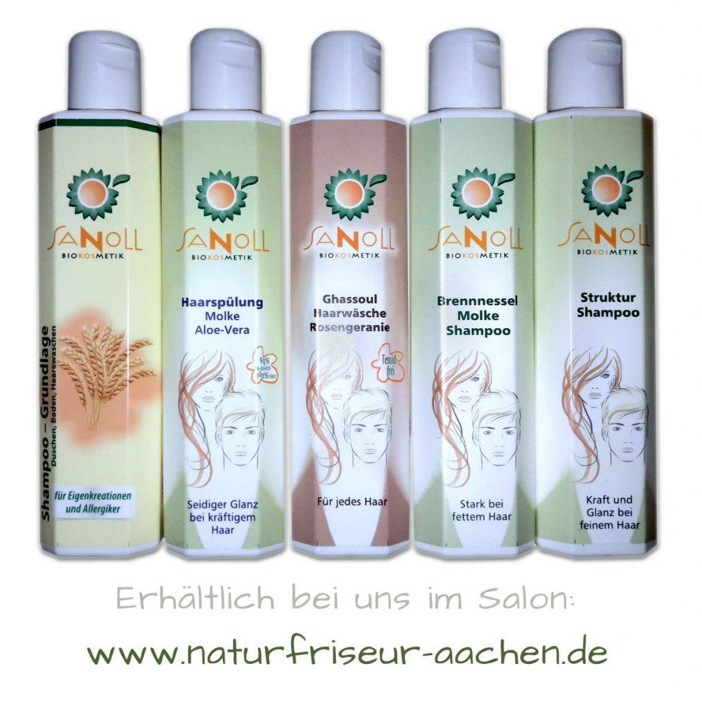 Sanoll Shampoo Serie - Biokosmetik