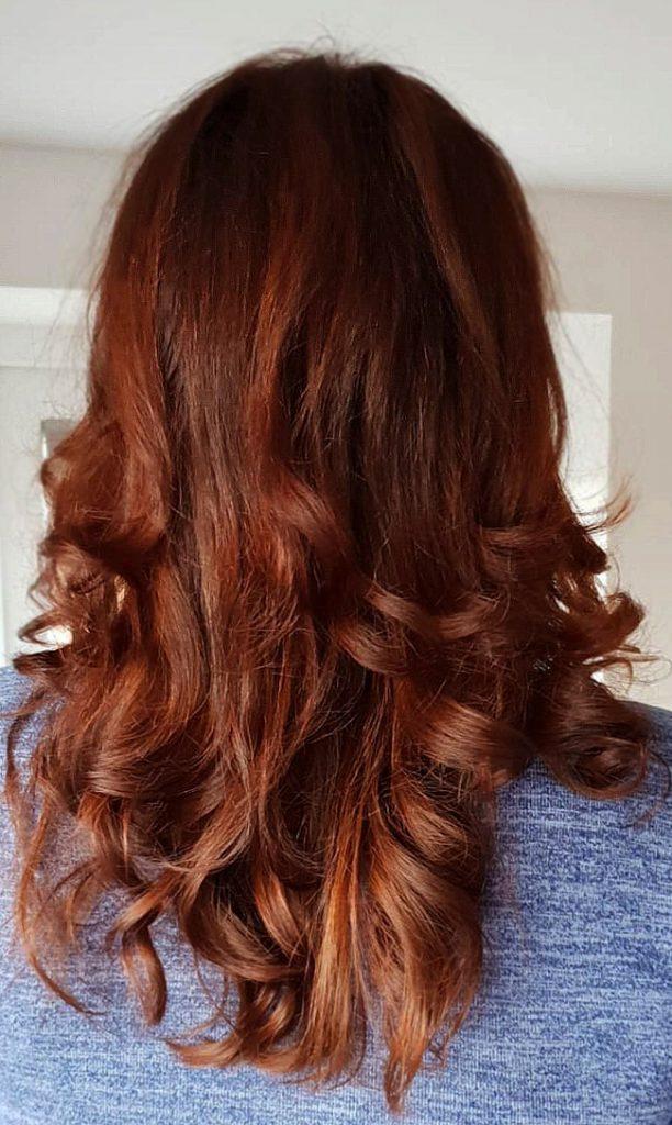 Haarfarben Henna,Anwendung, Friseur Aachen, Haarefärben ohne Chemie.