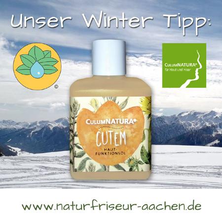 Haut und Haarpflege / damen und Herren Friseur Aachen / Winter Tipp vom Naturfriseur