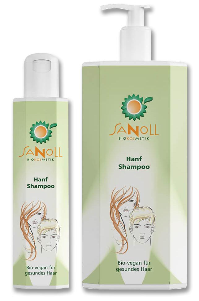 Sanoll Biokosmetik Hanf Shampoo