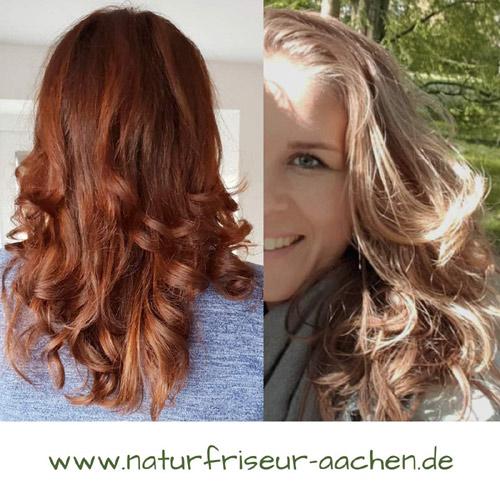 Haare färben ohne Chemie. www.naturfriseur-aachen.de