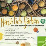 satuscolor Pflanzenhaarfarbe. zertifizierte Qualität. Naturkosmetik