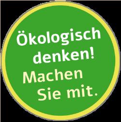 Ökologisch denken! Machen Sie mit. Melissa Frings Friseurmeisterin Aachen