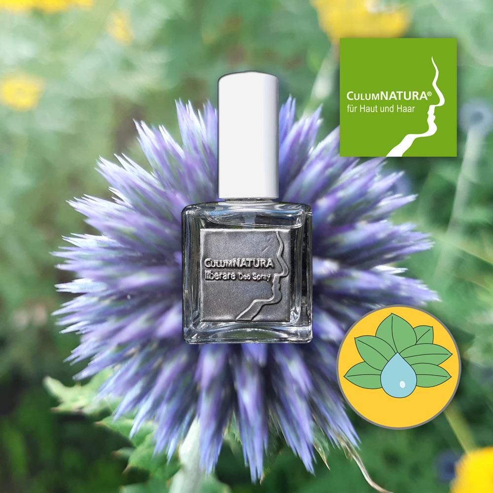 liberare DEO SPRAY, zartherber Geruch, erfrischende, desodorierende Wirkung, kann bei Bedarf mehrmals täglich auf die gewünschten Hautpartien aufgesprüht werden, ohne Treibgas, frei von Aluminium