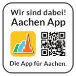 Wir sind dabei! Aachen App. Die App für Aachen. Regionale Entwicklung in deiner Region. Stadt Aachen und Euregio Aachen.
