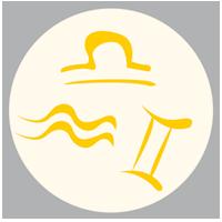 Luftzeichen: Libra/Waage - Luft Aquarius/Wassermann - Luft Gemini/Zwilling - Luft